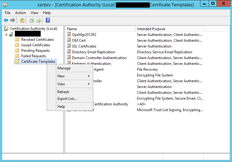 Model technology monitoring servers without a gateway scom in the certificate templates console right click computer and select duplicate in this example we simply leave the compatibility settings to windows yadclub Image collections