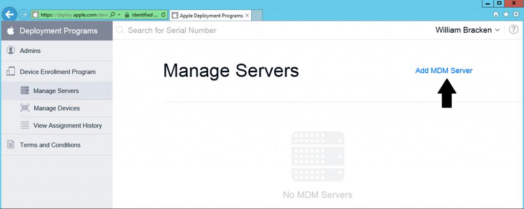 AddMDMServer