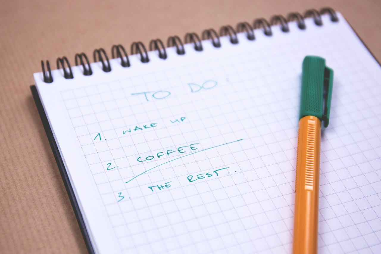 To do list: Wake up, coffee, and then the rest. Patch management checklist