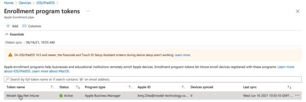 Intune, iOS, Apple Business Manager, Apple Configurator 2